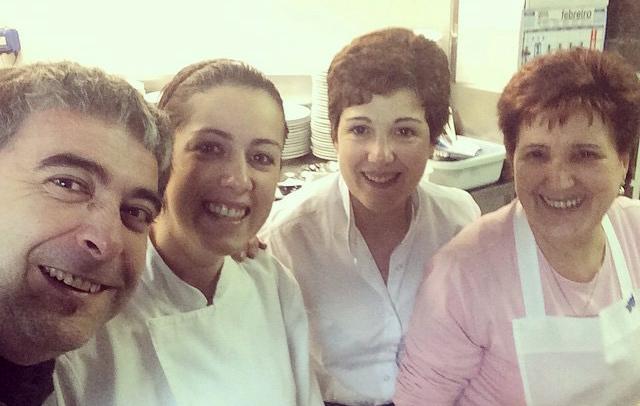 """""""Brindar con chefs"""". Cuestionario a Conchi Peiteado."""