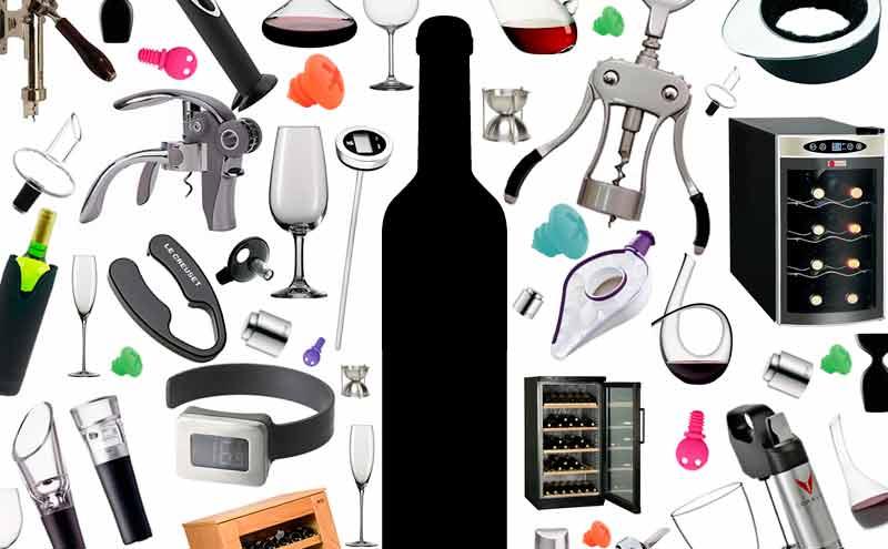 """El top 5 de accesorios """"pijos"""" para el vino"""