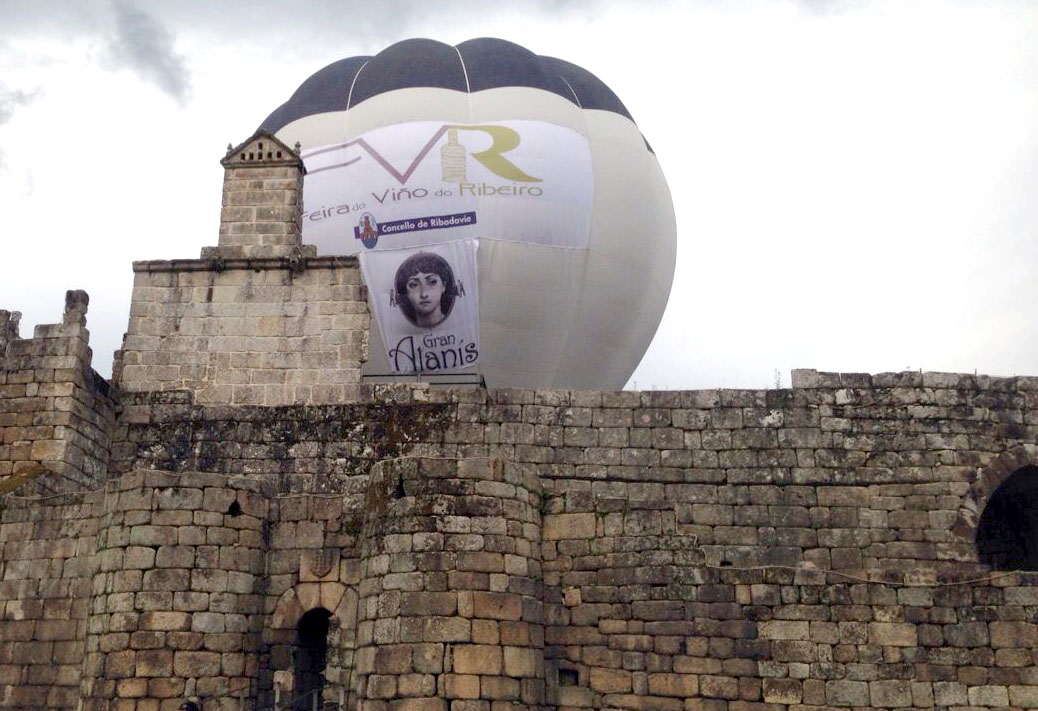 Bodega Alanís en la 54º Feira do Viño do Ribeiro de Ourense