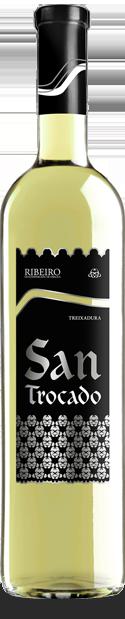 Ribeiro San Trocado. Regalar vino.