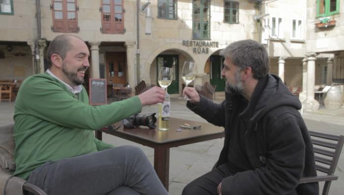 Alberto Ribas en Motivos para Brindar con José Manuel García