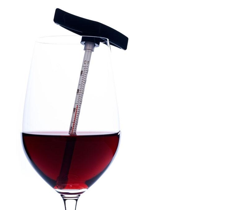 ¿Cuál es la temperatura perfecta para servir un vino?