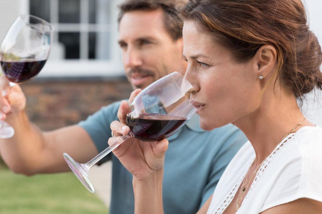 Cata de vinos: fase gustativa