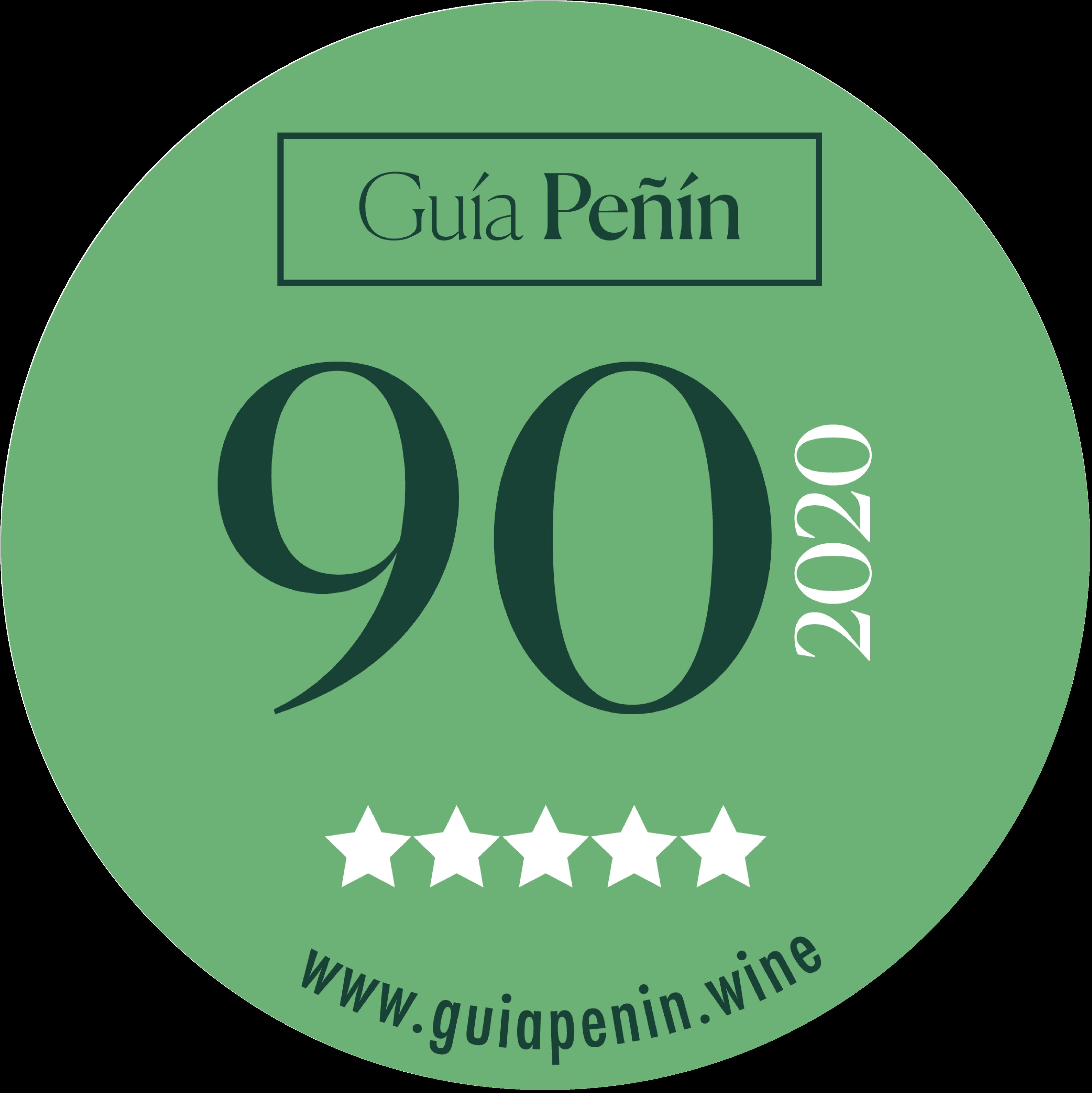 90 Puntos_2020_5 Etrellas