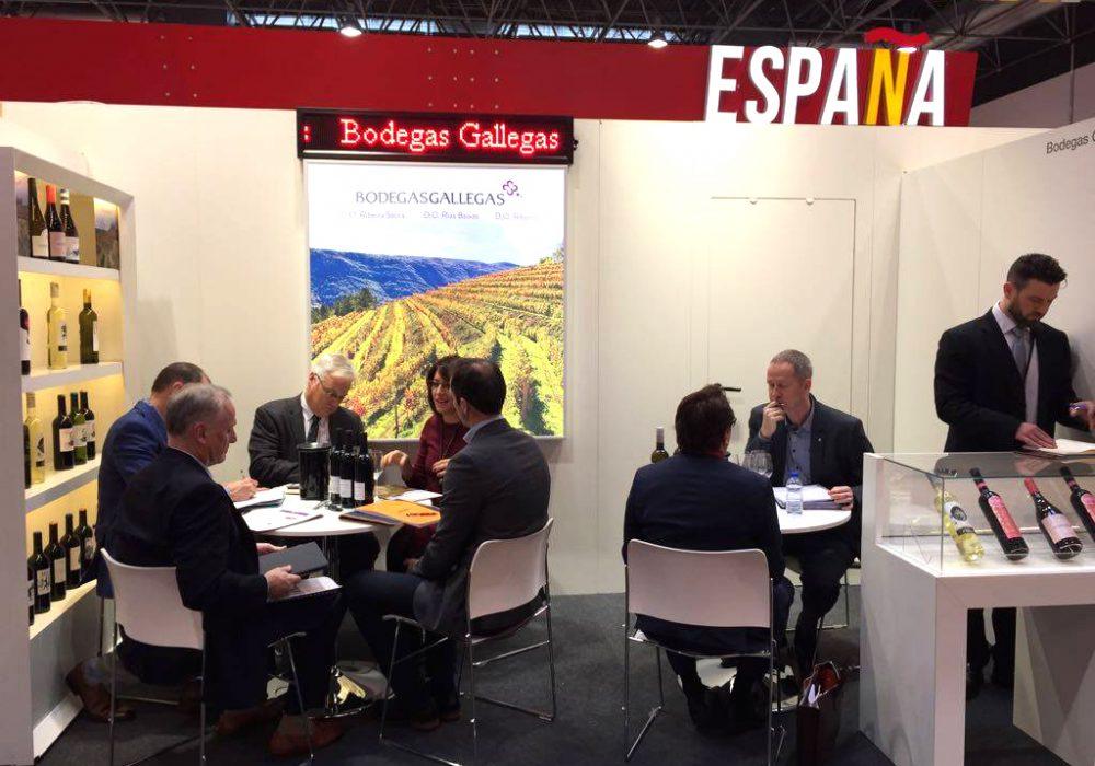 (Español) Bodegas Gallegas lleva sus vinos a Prowein, la feria del sector más importante del mundo