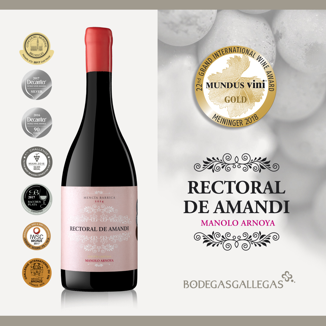 Un nuevo premio internacional para nuestro Rectoral de Amandi Edición Especial «Manolo Arnoya»
