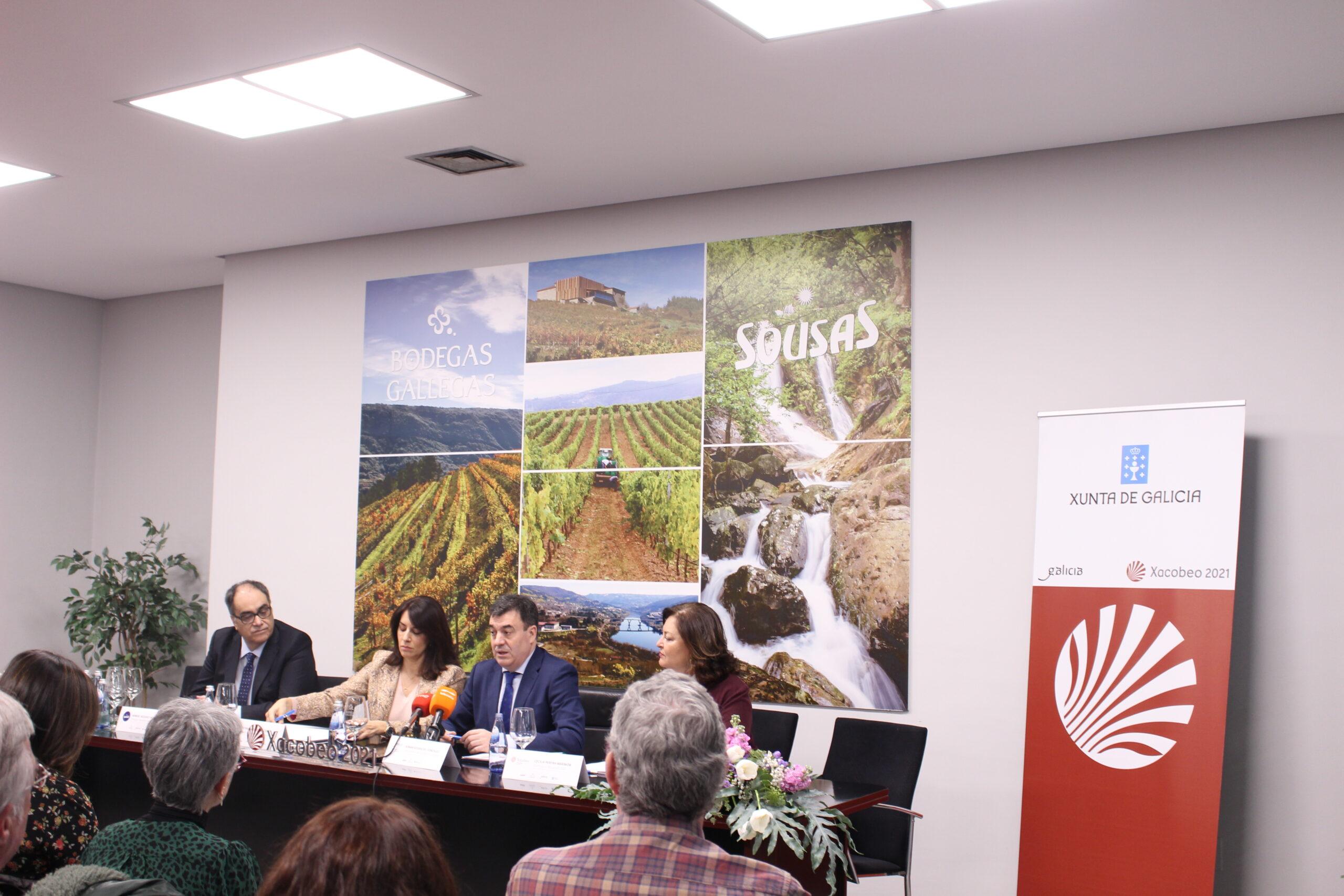 Bodegas Gallegas y Aguas de Sousas «Patrocinadores oficiales» del Xacobeo 2021